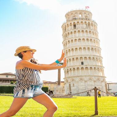 Por que a torre de Pisa não cai?