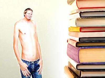 A leitura de certos tipos de livro provoca uma queima de calorias maior.