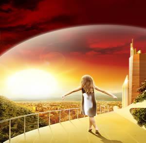 Enxofre: elemento que evita a incidência da radiação solar.
