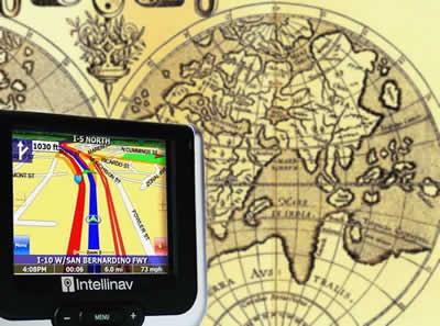 Do mapa ao GPS: os avanços nos meios de localização do homem.