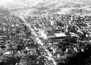 Avenida Paulista em 1920, São Paulo.