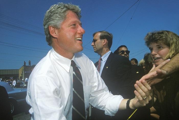 Bill Clinton sofreu um processo de impeachment em 1998*