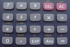 Multiplicação e divisão envolvendo números e letras