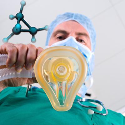 O cicloalcano mais simples é um potente anestésico: ciclopropano