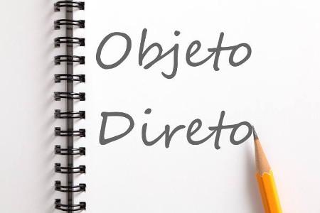 O objeto direto integra o sentido de um verbo transitivo direto