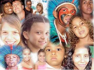 A diversidade étnica do Brasil
