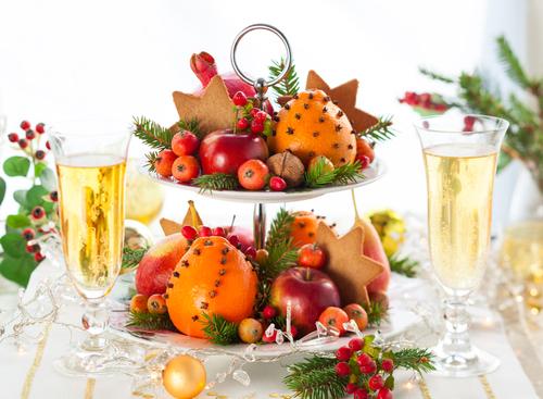 Frutas, uma ótima opção para as comemorações