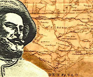 O bandeirantismo teve grande contribuição na descoberta das primeiras regiões mineradoras.