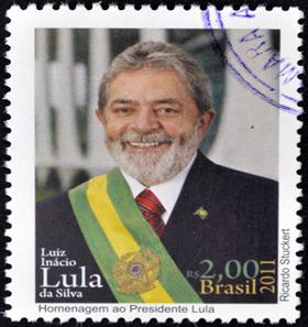 O ex-presidente Lula foi um dos governantes que marcaram o cenário político no Brasil Atual. *