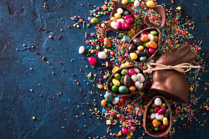 Os ovos de Páscoa são um dos principais símbolos da Páscoa moderna.
