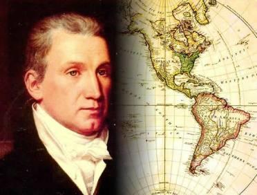 Doutrina Monroe: a defesa da soberania política das nações americanas frente às potências européias.