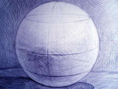 A esfera possui alguns elementos característicos