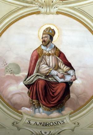 Santo Ambrósio enfrentou o imperador Teodósio para defender os princípios cristãos