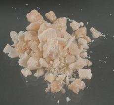 Substâncias que constituem o crack