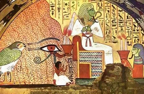 Os egípcios cultuavam vários deuses que possuíam, cada um, características peculiares