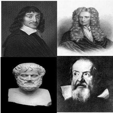 Ao longo da história, grandes estudiosos voltaram-se para a compressão da relação entre força e movimento
