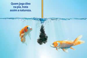 Campanha de reciclagem de óleo de cozinha de Porto Seguro - BA