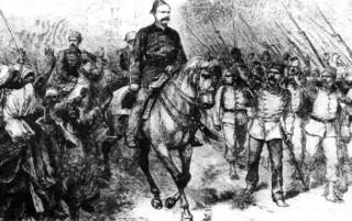"O Coronel Ahmad Urabi (""Arabi Paxa"", 1839-1911), cuja fonte é Mary Evans Picture Library"