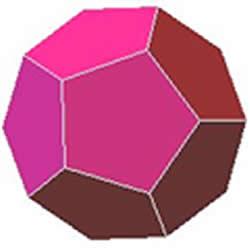 Dodecaedro: sólido platônico