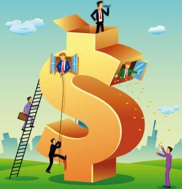 Na economia de mercado, o sistema financeiro é guiado pela iniciativa privada
