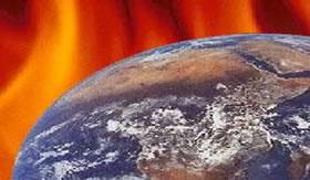 A Terra é envolvida por uma camada de gases.