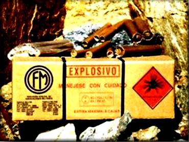 O ácido nítrico pode ser aplicado na produção de explosivos