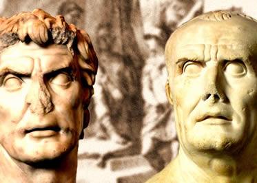 A disputa de poder entre Sila e Mario indicou a crise política do regime republicano de Roma.