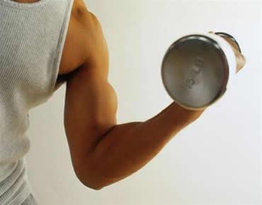 Substância que estimula a produção de proteínas no músculo.