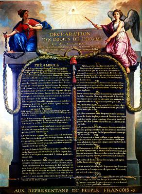"""A """"Declaração dos Direitos do Homem e do Cidadão"""": uma das conquistas da Assembleia Nacional Constituinte"""