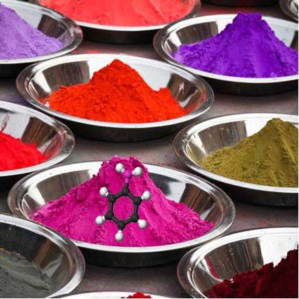 A anilina (fenilamina) é um corante sintético muito importante