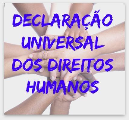 A Declaração Universal dos Direitos Humanos fundamenta-se no respeito aos direitos e às liberdades individuais e coletivas