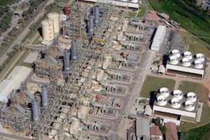 TermoRio: termelétrica movida a gás natural.