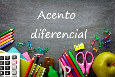 O Novo Acordo Ortográfico eliminou o acento diferencial das palavras homófonas, exceto em dois casos: pôde e pode, pôr e por