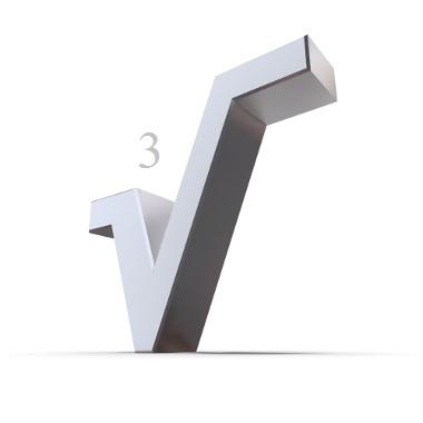 A raiz cúbica de um número é obtida calculando-se o número que, multiplicado três vezes, gera o valor numérico referente ao radicando