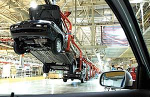 A indústria automobilística é um exemplo claro de transnacionais.