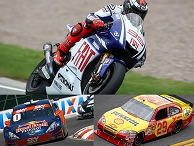 Nas corridas automobilistas os pilotos desenvolvem em seus carros e motos velocidades superiores a 250 km/h em alguns trechos da pista