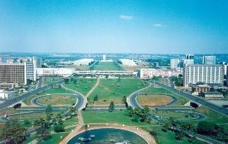 Brasília, a cidade mais populosa do Centro-Oeste.