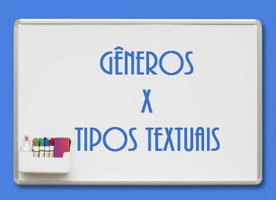 Conhecer as diferenças entre gêneros e tipos textuais faz toda a diferença para quem quer interpretar adequadamente um texto