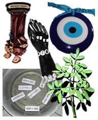 Crenças populares que usam amuletos, santos e a fé