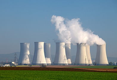 Usina nuclear geradora de energia elétrica