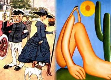 Imitar a Europa ou valorizar o Brasil? – um dos grandes dilemas que marcaram a Semana de Arte Moderna de 1922.