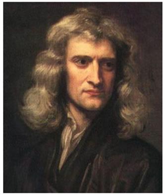 Isaac Newton propôs as leis que descrevem o comportamento dos corpos em movimento.