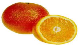 A laranja é um alimento termogênico.