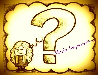 O modo imperativo se forma do presente do indicativo e do presente do subjuntivo