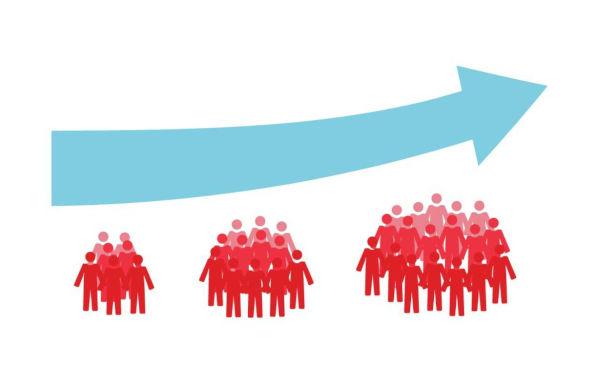 O crescimento populacional era uma das grandes preocupações de Thomas Malthus.