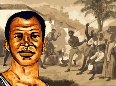 Zumbi foi um dos mais conhecidos líderes quilombolas do período colonial.