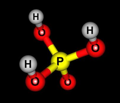 O ácido fosfórico é um exemplo de oxiácido classificado quanto ao grau de hidratação