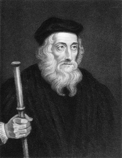 John Wycliffe é considerado um dos precursores da Reforma Protestante na Europa