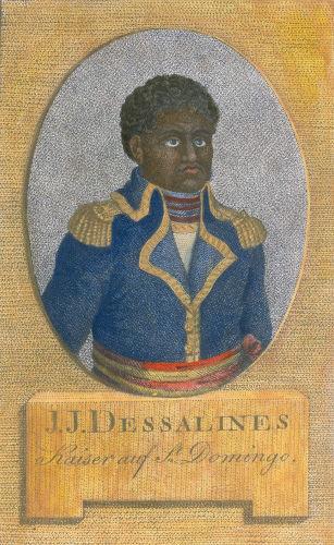 Jean-Jacques Dessalines assumiu a liderança da Revolução após a prisão e morte de Toussaint Louverture