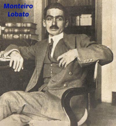 Monteiro Lobato, escritor brasileiro cujas obras permeiam o imaginário do público de diversas idades e gerações